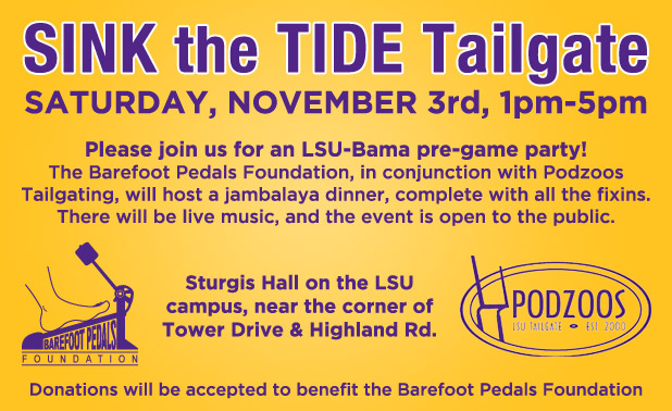 Sink the Tide Tailgate